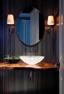 vasque verre d'eau