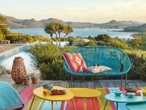 Un jardin coloré ! #piscine#terrasse#jardin